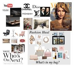 """What's in my bag?"" by crystalwhitefashion ❤ liked on Polyvore featuring Chanel, Cluny, Home Decorators Collection, Yves Saint Laurent, Karl Lagerfeld, Tom Ford, Tory Burch, Smashbox, Ted Baker and Sony"