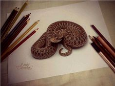 50 Impressive 3D Drawings | Cuded