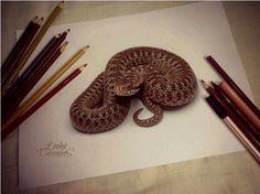 50 Impressive 3D Drawings | Cuded