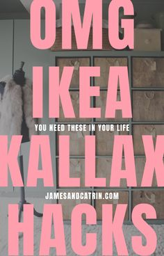 New Free of Charge 33 Stunning Ikea Kallax Hack Ideas you Need to See - james and catrin Thoughts The IKEA Kallax collection Storage furniture is an important section of any home. They supply obta Ikea Bookshelf Hack, Ikea Kallax Hack, Eco Furniture, Ikea Furniture Hacks, Furniture Design, Hacks Diy, Ikea Hacks, Dining Table Legs, Best Ikea