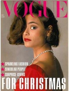 December 1983. Model: Talisa Soto.