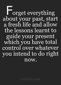 Yes it's that simple. The first step is always the thought process. Life comes and goes one day at a time so all we can do is live it that way.