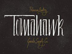 Tomahawk by Philip Eggleston