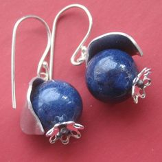 blueberry earrings - Google Search