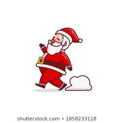 Stock Photo and Image Portfolio by Imajin No asking | Shutterstock Santa Cartoon, Cartoon Characters, Fictional Characters, Royalty Free Stock Photos, Disney Princess, Illustration, Artist, Christmas, Image