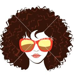 Beautiful woman face vector 790428 - by ColorValley on VectorStock®