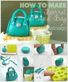 Barrel handbag toppers