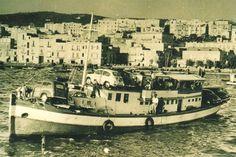 In navigazione negli anni '50...