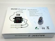 New Price! DC12-24V18A RF RGB Music Led Controller