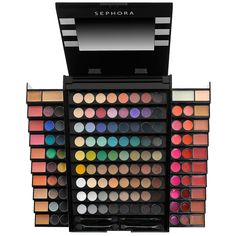 $49 Makeup Academy Blockbuster - @Sephora This would be great for any teen or early 20's makeup addict. Grown women would have their own preferences but to someone still finding their makeup personality, this would be amazing.