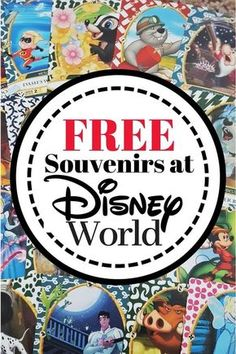 Free Disney Souvenir List for Disney World #disney #disneytips #disneyworld #traveltips #travel