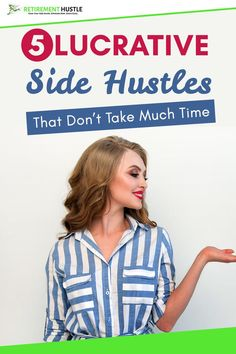 5 Lucrative Side Hustles That Don't Take Much Time! Side Hustle at home, Side Hustle memes, Side Hustle for men, Side Hustle for teens, Side Hustle extra cash, Side Hustle for introverts, Side Hustle diy, Side Hustle woman, Side Hustle images, Side Hustle college, Side Hustle creative, Side Hustle motivation, Side Hustle tips, Side Hustle online. #Sidehustle #makeextramoney #makemoneyonline #parttimeonlinework Online College, Online Work, Extra Cash, Extra Money, Make Money Online, How To Make Money, Successful Business Tips, Time Management Tips, Hustle
