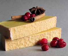 Spiced Cranberries Cold Pressed Soap.