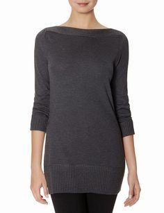 Long Boatneck Sweater from THELIMITED.com #TheLimited #TheSweaterShop