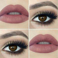 красота, карие глаза, косметика, макияж глаз, глаза, мода, девушки, девчачье, вдохновение, реснички, губы, мейк-ап, макияж, тушь для ресниц, приятное, женщина