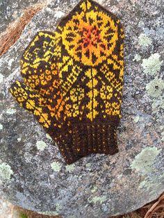Mysterie-vottene Mittens, votter, strikking, knitting