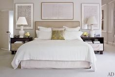 architectural design traditionally decorating white calming master bedroom retreat