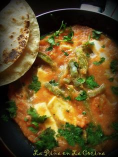 Queso Con Chile y Nopalitos~Mexican Cheese and Cactus in a Warm Salsa