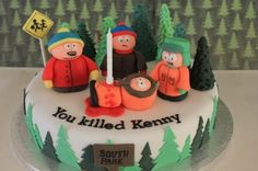 South Park By tetley on CakeCentral.com
