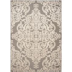 Safavieh Monroe Taupe Rug (8' x 11'2) - Overstock Shopping - Great Deals on Safavieh 7x9 - 10x14 Rugs