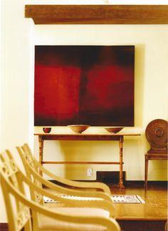 Modern Art; Design by Shelley Gordon Interior Design