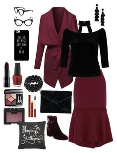 """""""Good Witch 🎃"""" by msccar61 on Polyvore featuring Rebecca Vallance, Ash, Miss Selfridge, Rebecca Minkoff, BaubleBar, Alexander McQueen, Christian Dior, OPI, NARS Cosmetics and Rizzy Home"""