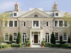 Stone Brick House Exterior_49