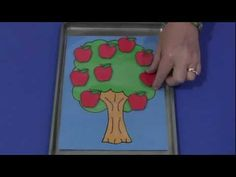 "Song/Feltboard Activity, ""Ten Apples on the Tree"""