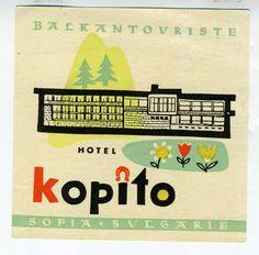 1950s Hotel Kopito Balkantouriste ortospirazione