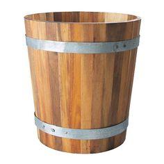 IKEA - TISTELÖ, Balja, Massiv acacia; ett hårt och hållbart träslag, särskilt lämpligt för utomhusbruk.