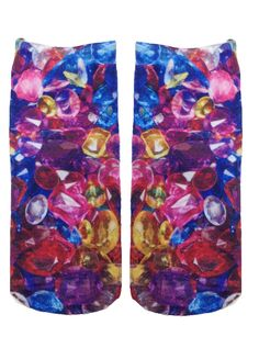 """We love Jewels! *Unisex *100% polyester *Made in the USA *One Size fits most * 7.5"""" L x 3"""" W Printed on one side only."""