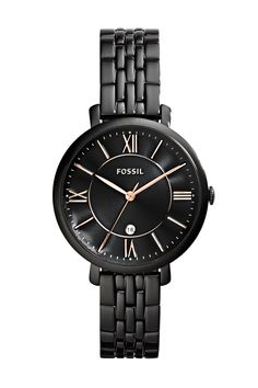 For the jetsetter, the Fossil Jacqueline watch, $135 Fossil Wishlisted