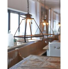 Meatpacking District Hanging Lamp L - Lamps & Lamp Shades | Rivièra Maison