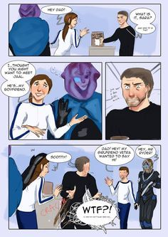 The Art of Beverii — So…does Alec Ryder approve of his children's alien...