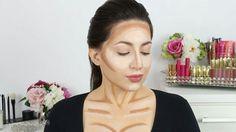 Contorno do colo e pescoço
