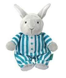Goodnight Moon Large Plush by Kids Preferred - 33308  Kids preferred introduces soft lovable toys from the classic children's bedtime book Goodnight Moon. Goodnight Moon is short poem of good night wishes from young rabbit preparing for or attempting to postpone his own slumber. He says good night to every object in sight and within earshot, including the quiet old lady whispering hush.