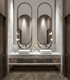Fancy Guest bathrooms design on Behance Washroom Design, Bathroom Design Layout, Toilet Design, Bathroom Design Luxury, Bathroom Design Small, Spanish Style Bathrooms, Home Entrance Decor, Home Decor, Showroom Interior Design