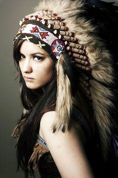 Indian head dress indians