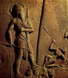"""Ancient Mesopotamia -""""There were giants in the earth in those days - and also afterward - when the sons of God went to the daughters of men and they bore children to them: these are the heroes of old, men of renown"""" (Gen 6, 4);"""