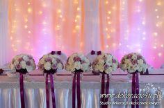 Dekoracje Weselnej Sali : Dekoracja sali weselnej jastkowice dekoracje u pl