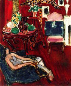 Blue Sketchbook Henri Matisse - 1945