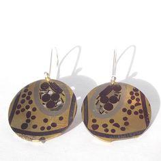 Earrings BRODGAR by colinduncan on Etsy, £55.00