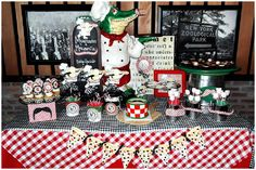{REAL PARTY} Papa G's Moustaches and Mozzarella Party on http://frogprincepaperie.com