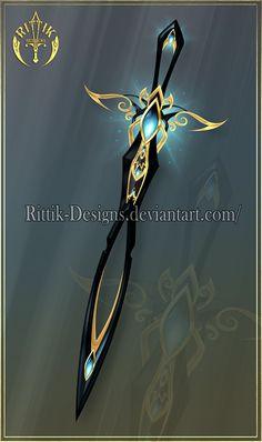 (OPEN) Sword of Dark Dreams - Auction! by Rittik-Designs