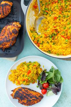 Want to make Nandos Spicy Rice at home? Then this Homemade Nandos Spicy Rice recipe is for you! And the best news? It only takes 20 minutes… and one pan! Nando's Chicken, Peri Peri Chicken, Chicken Spices, Yum Yum Chicken, Cuban Chicken, Spicy Rice Recipe, Rice Recipes, Chicken Recipes, Dinner Recipes