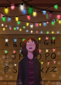 """""""Will, talk to me…"""" (Stranger Things - Joyce Byers art by sketchinfun)"""
