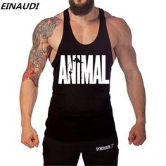 088ecdd9df1c18 Animal Stringers Mens Tank Tops Singlets (Apparel). Sleeveless ShirtTank ...