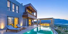 Cretan Contemporary Villas, Crete, Greece - book via i-escape