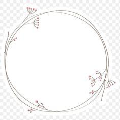 Doodle Png, Circle Doodles, Scrapbooking Freebies, Round Logo, Circle Logos, Portrait Illustration, Free Illustrations, Floral, Badge