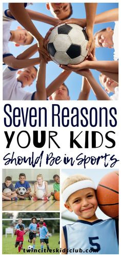 Twin Cities Kids Club Blogs: Seven Reasons Your Kids Should Be in Sports - If you have kids in sports right now, you might dread all the practices and games that fill your calendar. But if you have seen the way your son lights up after hitting their first baseball, or the way your daughter smiles after making her first basket, you know there is something special about playing sports. | Outdoor Fun | Outdoor Games | Sports | Kids Games | Kids Sports Kids Fun, Games For Kids, Cool Kids, Fun Outdoor Games, Indoor Games, Children Toys, Learning Through Play, Twin Cities, Kids Sports
